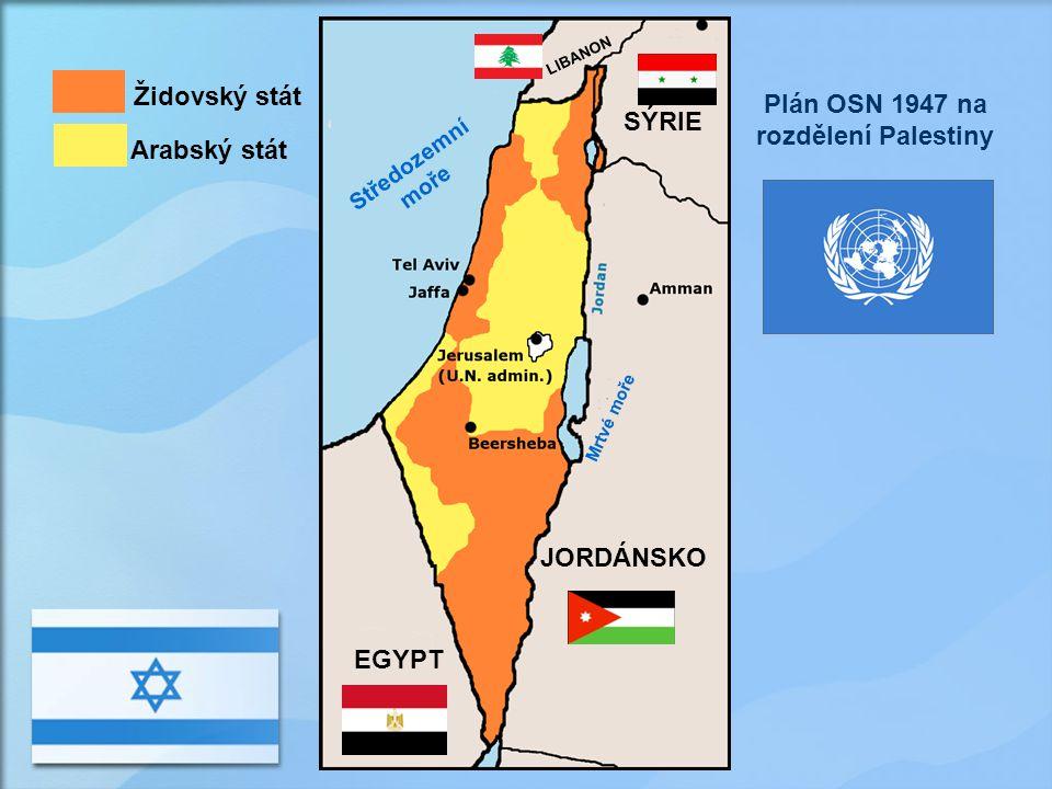 Plán OSN 1947 na rozdělení Palestiny