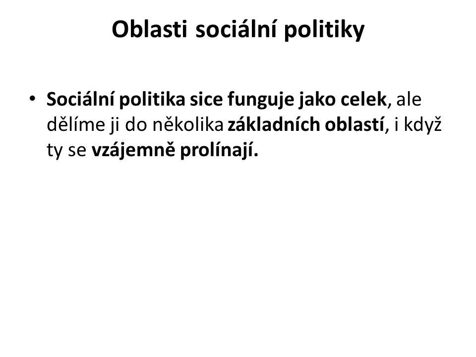 Oblasti sociální politiky