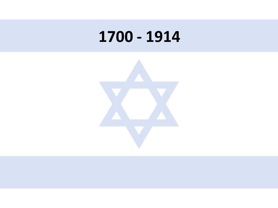 1700 - 1914