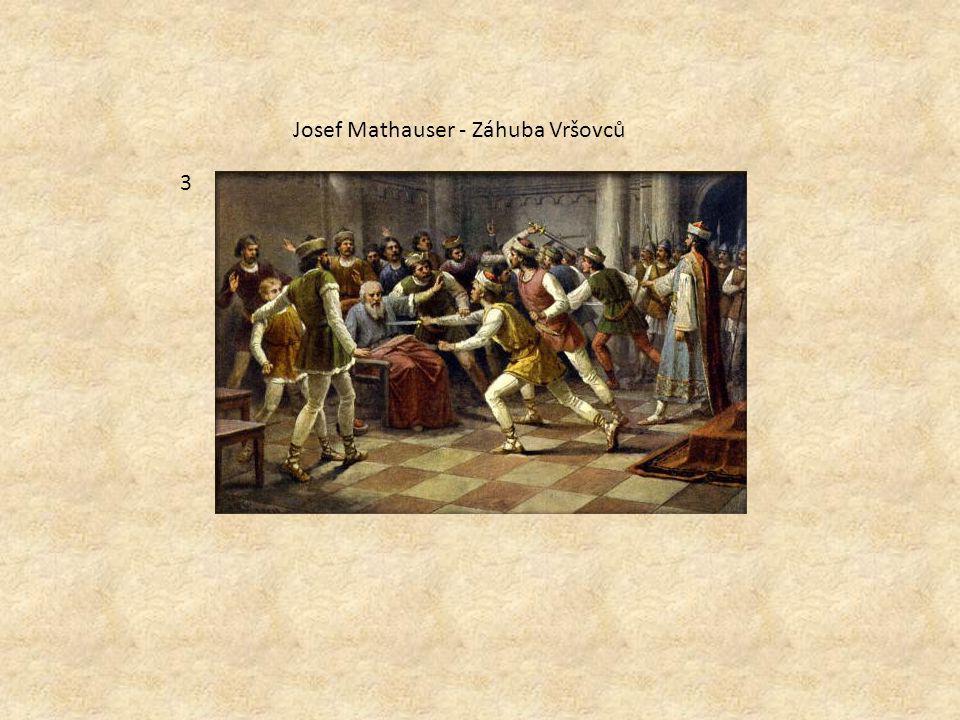 Josef Mathauser - Záhuba Vršovců