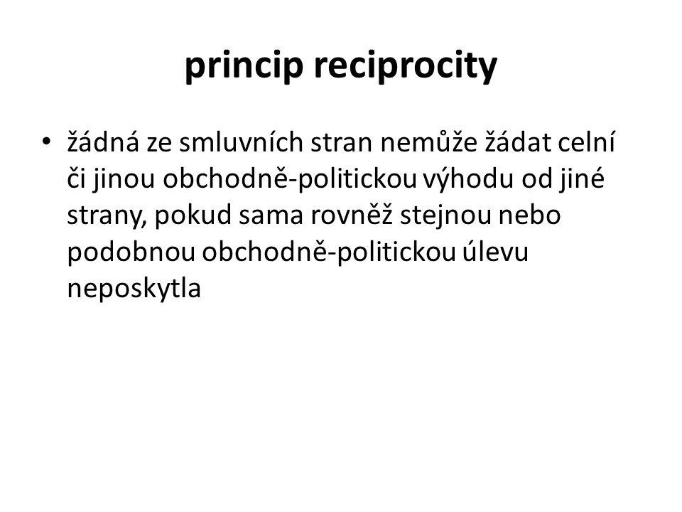 princip reciprocity