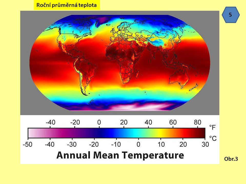 Roční průměrná teplota