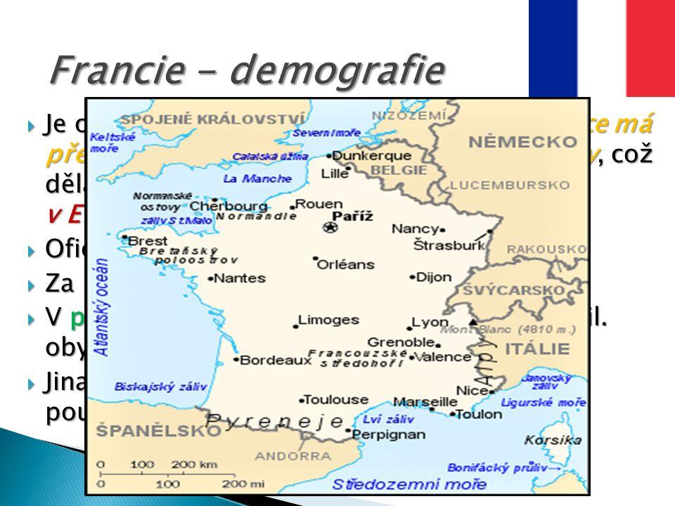 Francie - demografie