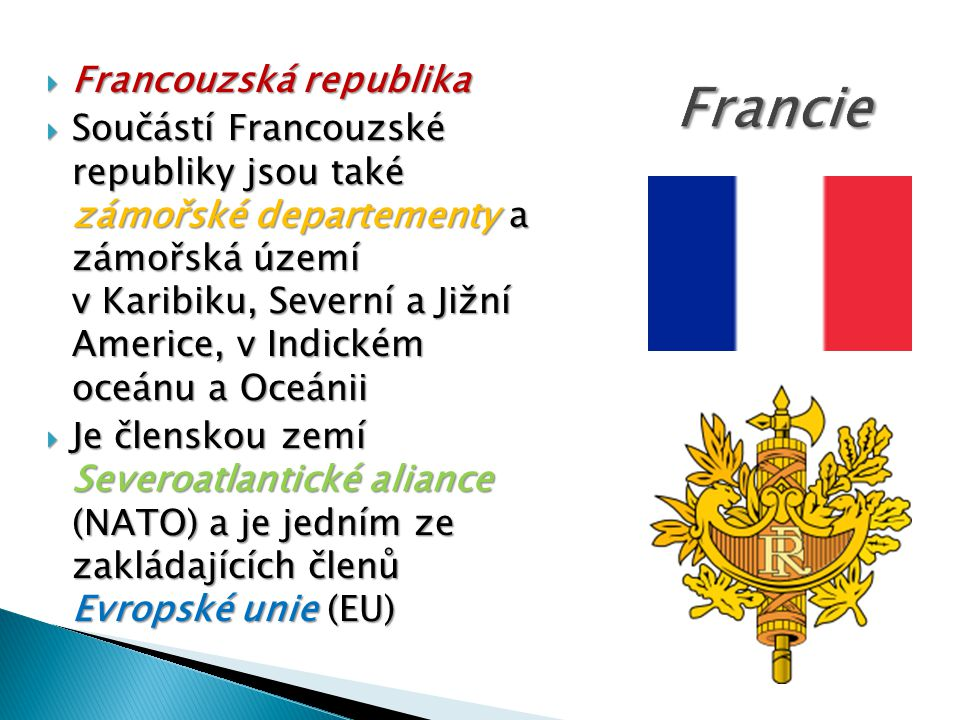 Francie Francouzská republika