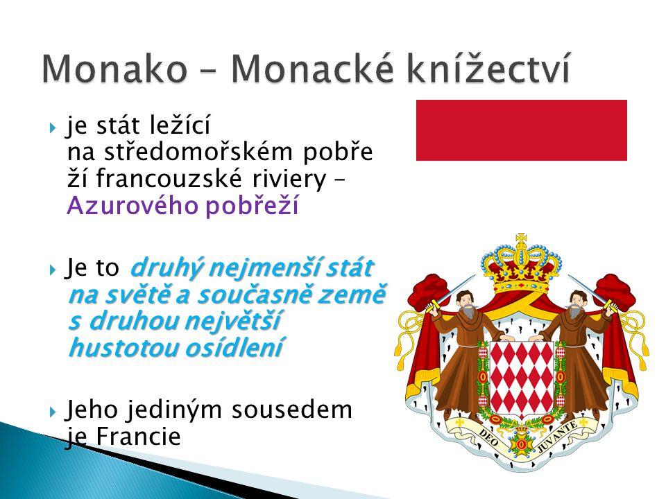 Monako – Monacké knížectví