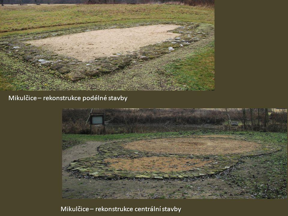 Mikulčice – rekonstrukce podélné stavby