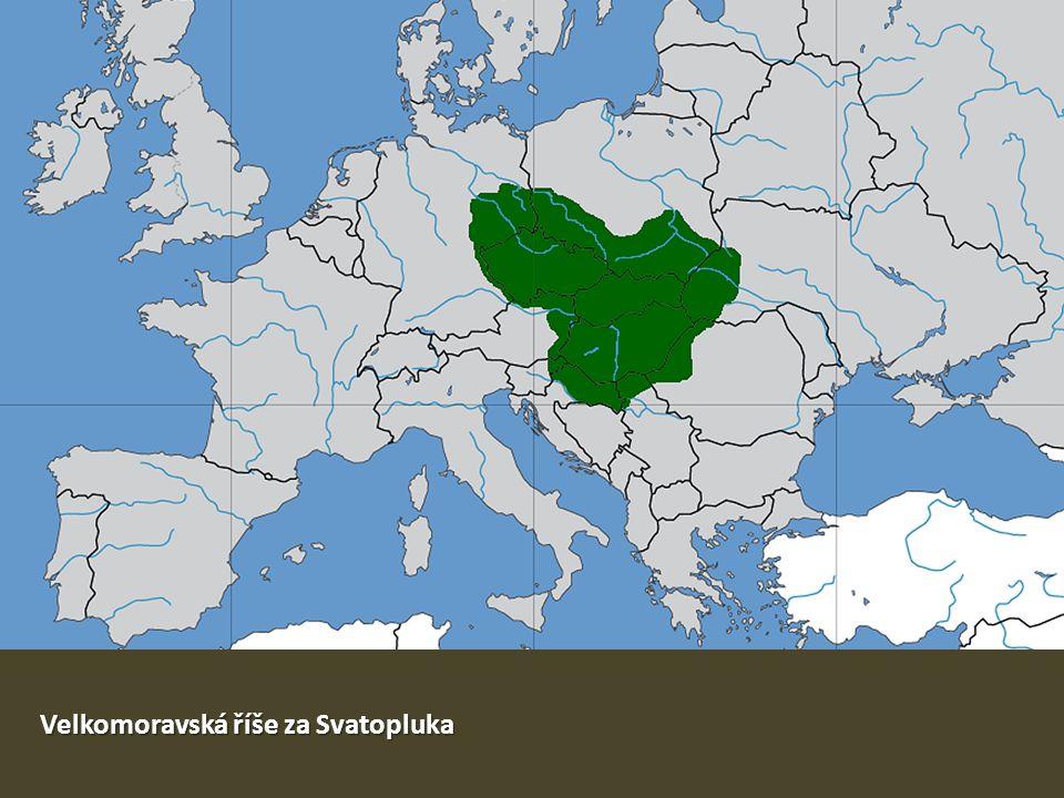 Velkomoravská říše za Svatopluka
