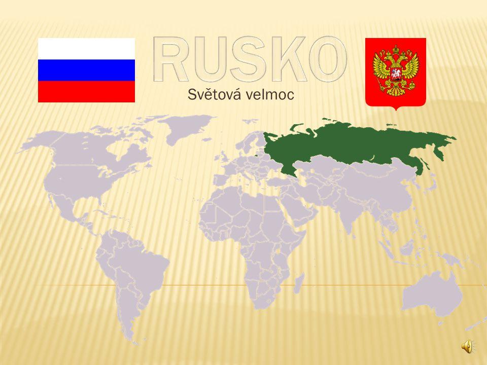 RUSKO Světová velmoc