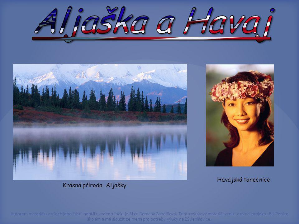 Krásná příroda Aljašky
