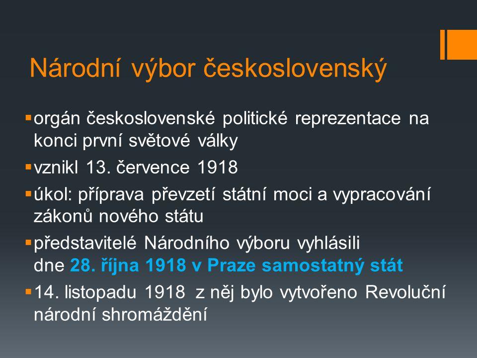 Národní výbor československý