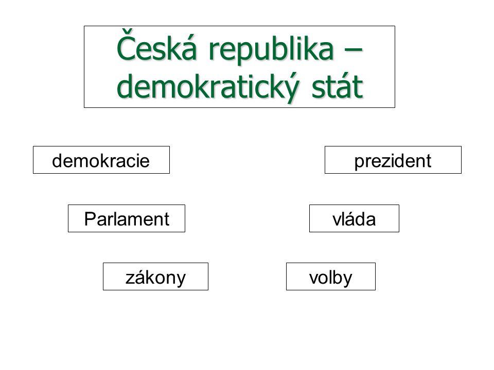 Česká republika – demokratický stát