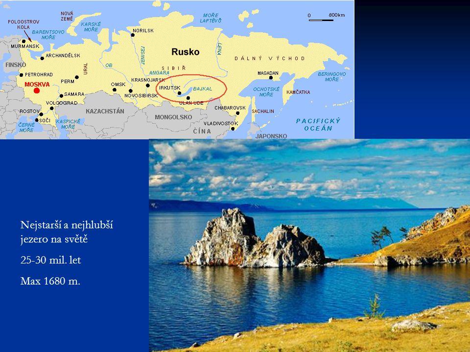Nejstarší a nejhlubší jezero na světě