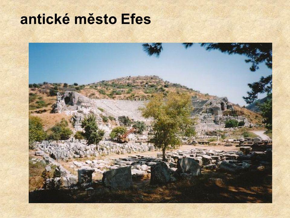 antické město Efes