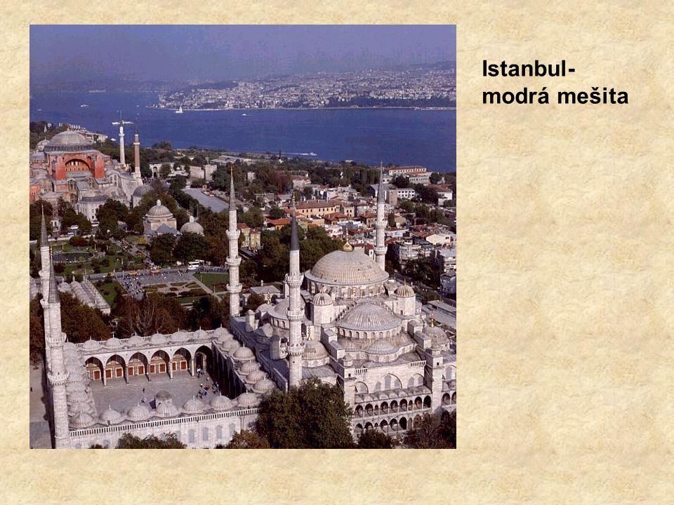 Istanbul-modrá mešita
