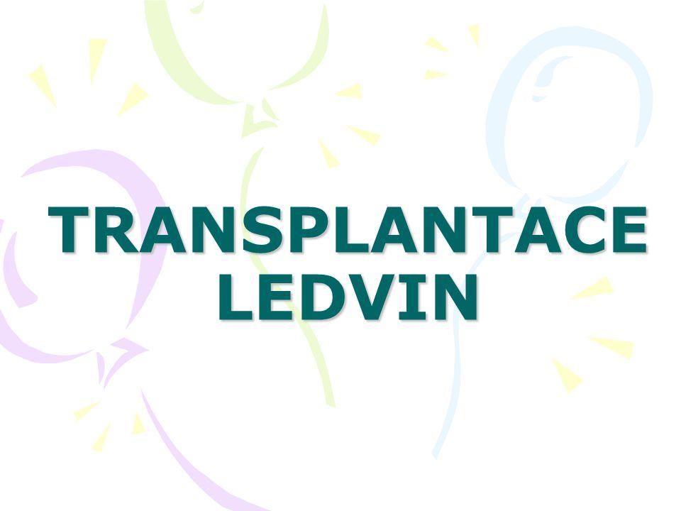 TRANSPLANTACE LEDVIN