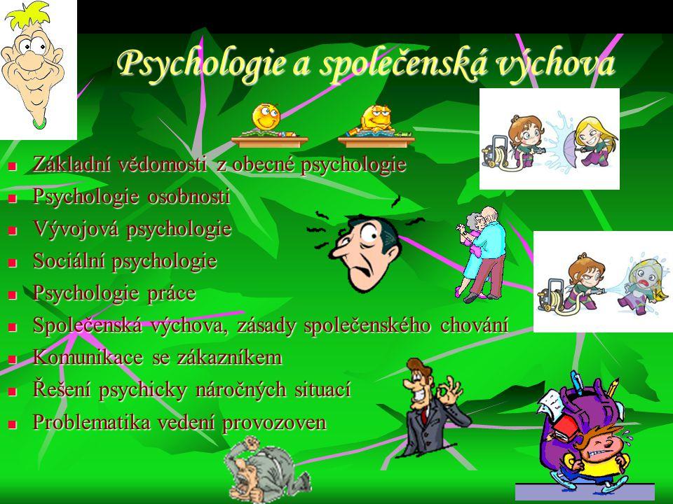 Psychologie a společenská výchova