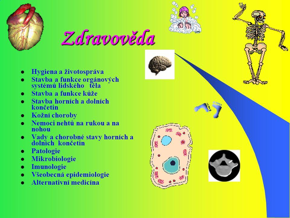 Zdravověda Hygiena a životospráva