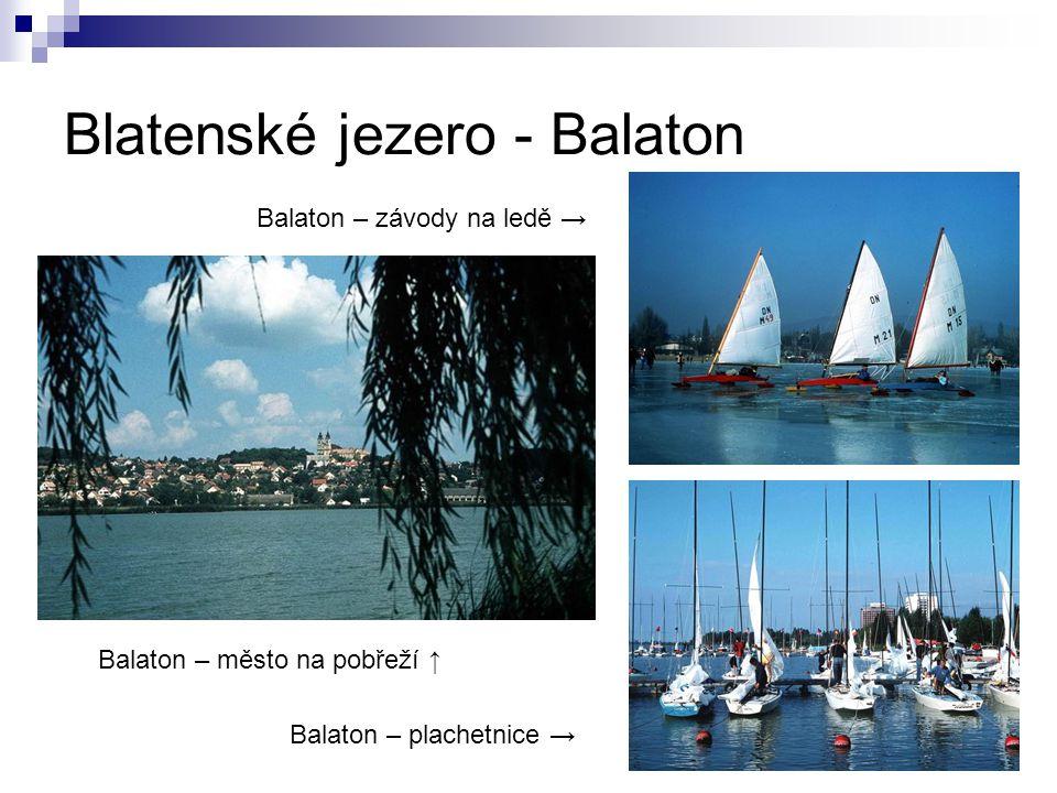 Blatenské jezero - Balaton