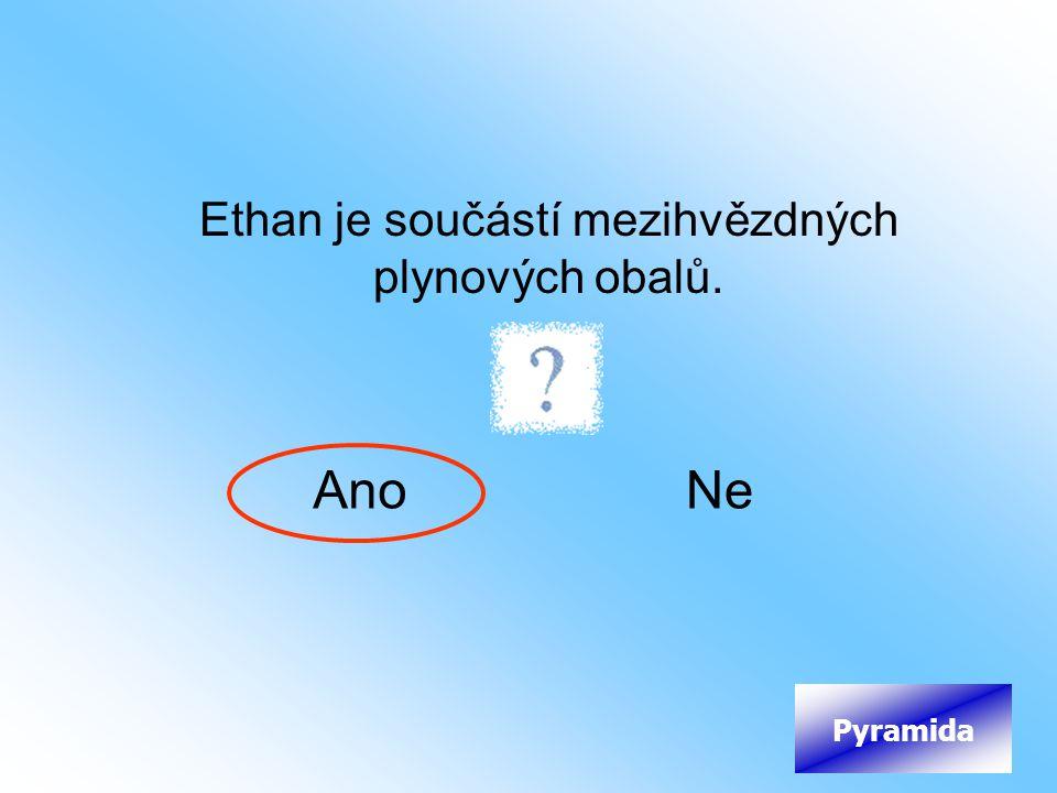 Ethan je součástí mezihvězdných plynových obalů.