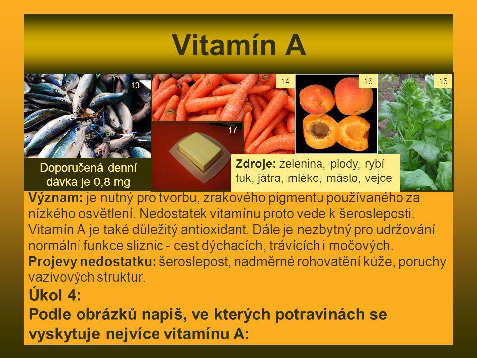 Doporučená denní dávka je 0,8 mg