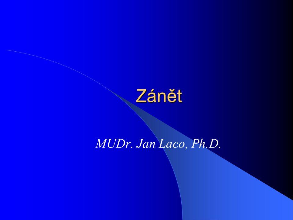Zánět MUDr. Jan Laco, Ph.D.