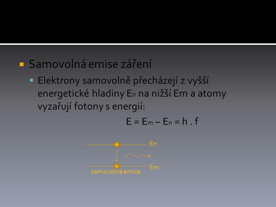 Samovolná emise záření