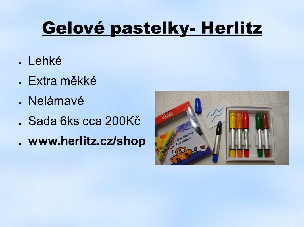 Gelové pastelky- Herlitz