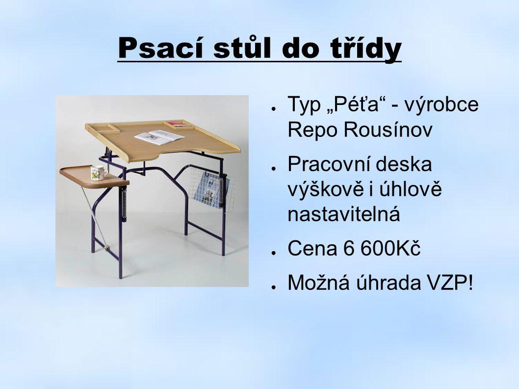 """Psací stůl do třídy Typ """"Péťa - výrobce Repo Rousínov"""