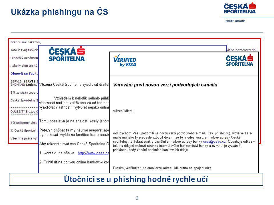 Útočníci se u phishing hodně rychle učí