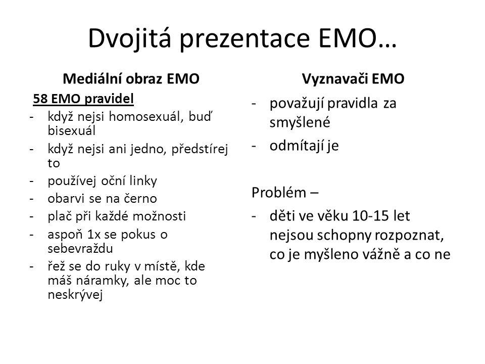 Dvojitá prezentace EMO…
