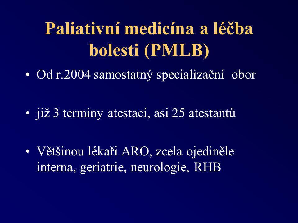 Paliativní medicína a léčba bolesti (PMLB)