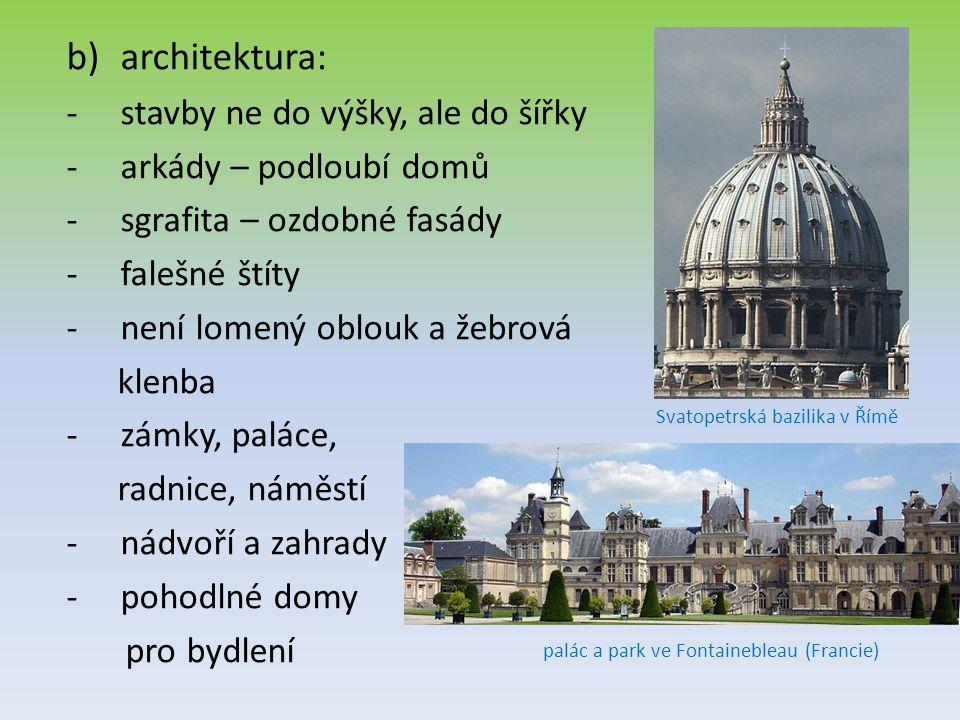 architektura: stavby ne do výšky, ale do šířky arkády – podloubí domů