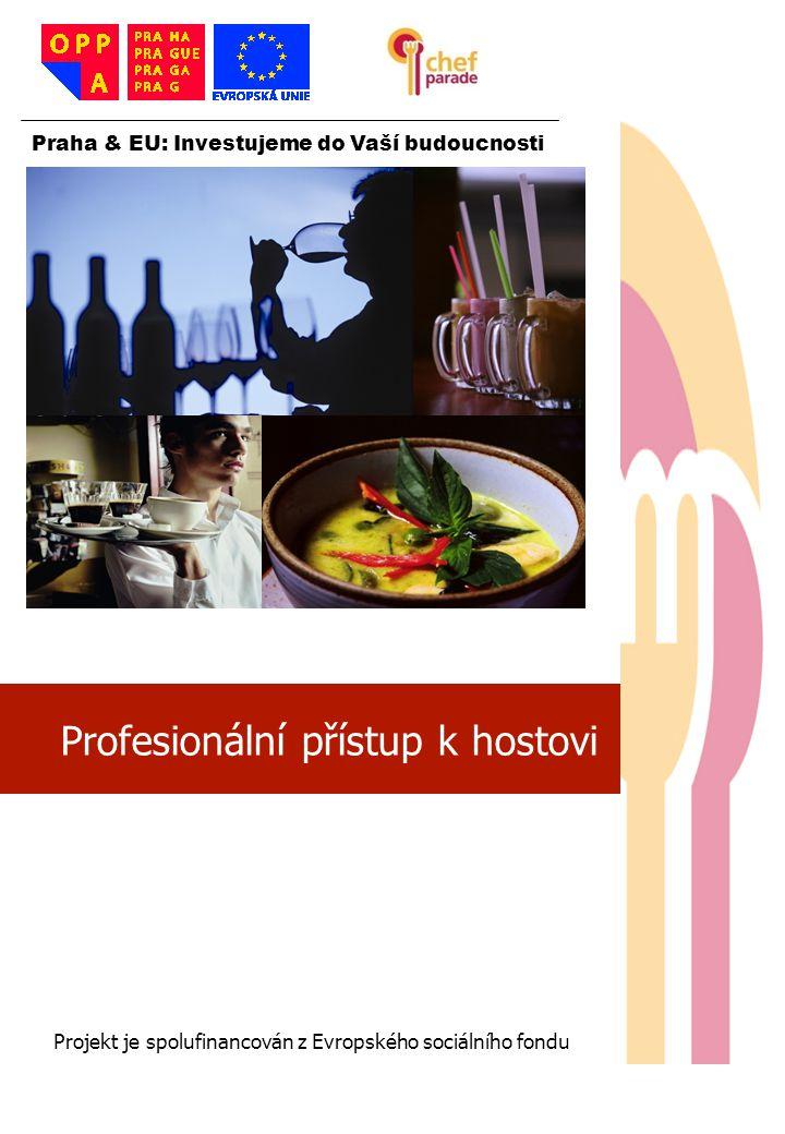 Profesionální přístup k hostovi