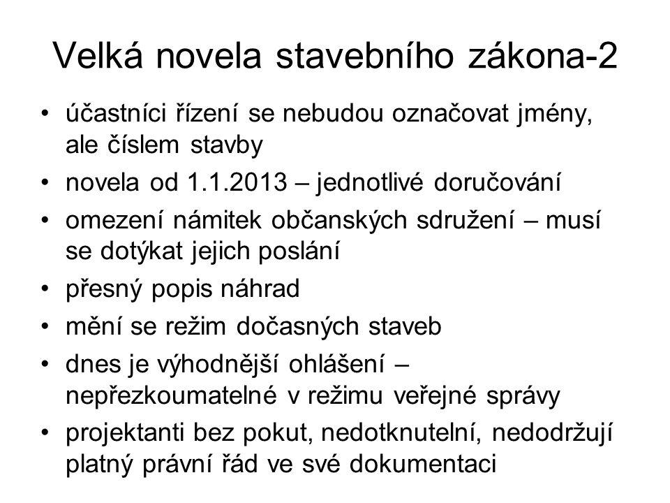 Velká novela stavebního zákona-2