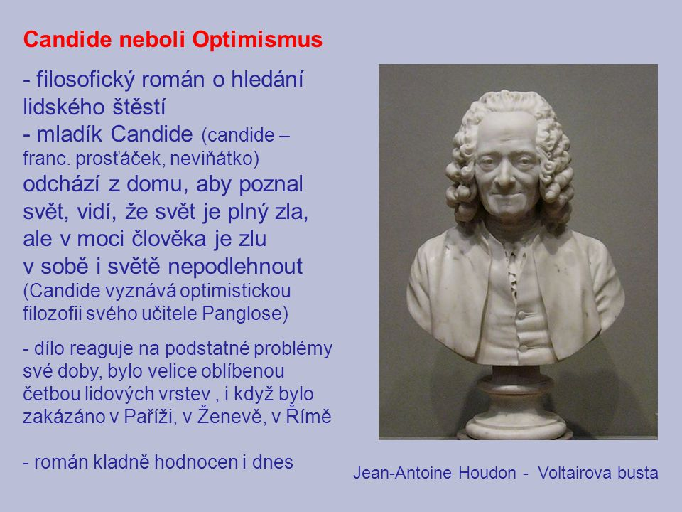 Candide neboli Optimismus