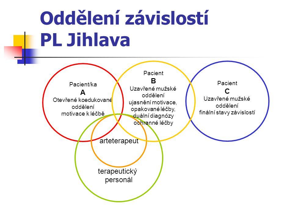Oddělení závislostí PL Jihlava
