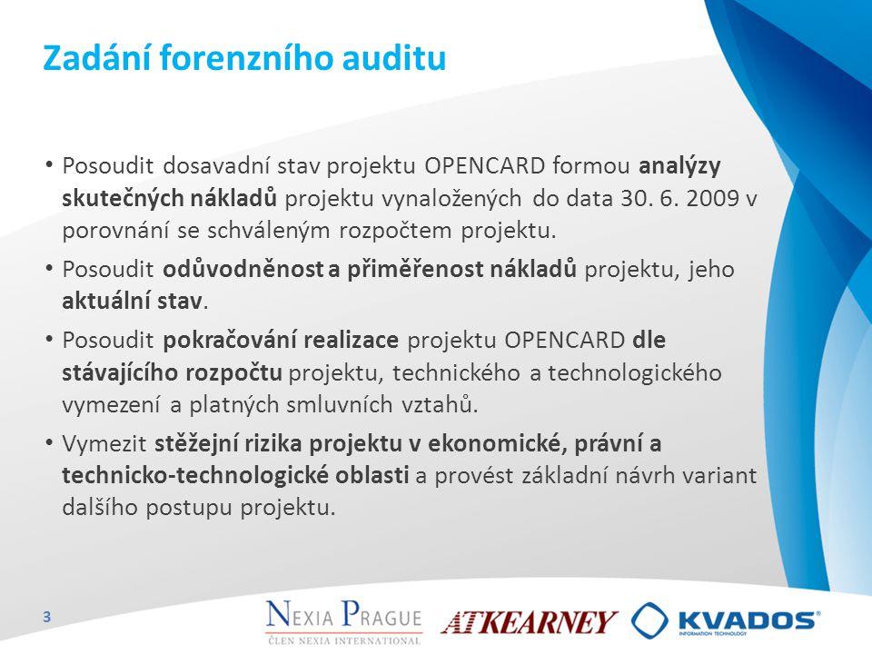 Zadání forenzního auditu