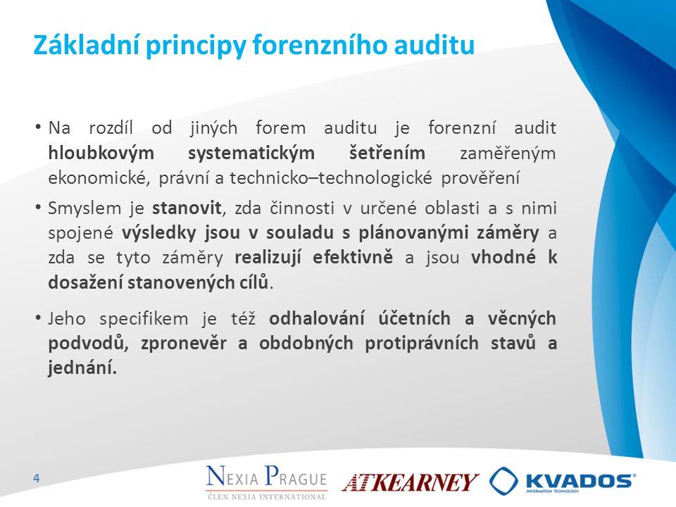 Základní principy forenzního auditu