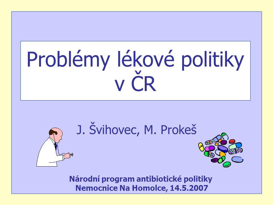 Problémy lékové politiky v ČR