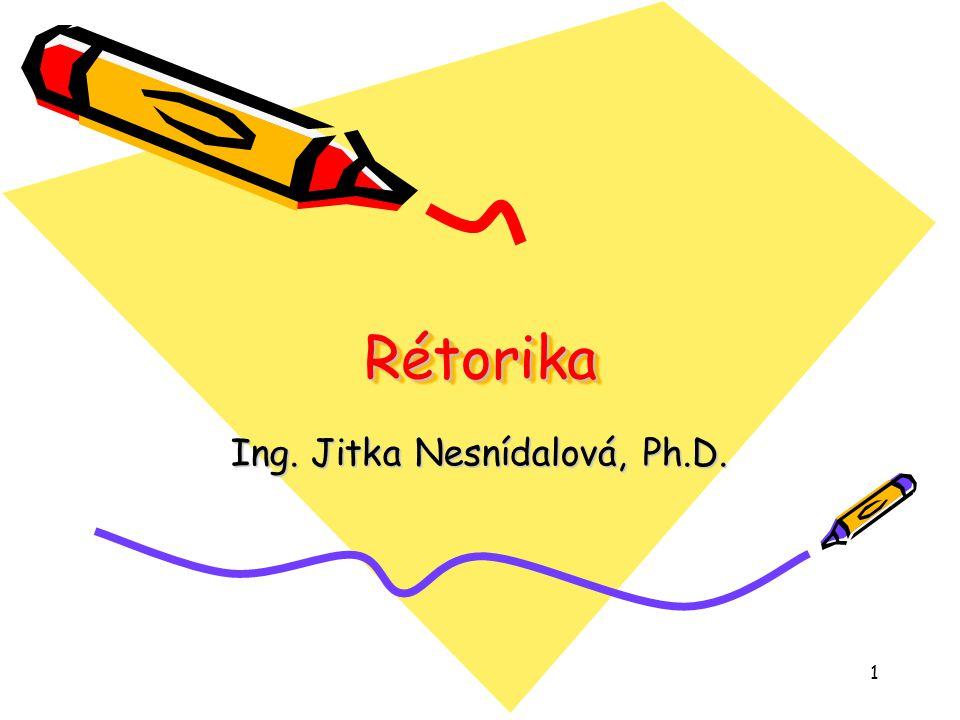 Ing. Jitka Nesnídalová, Ph.D.