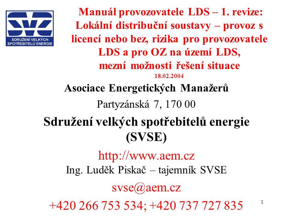 Sdružení velkých spotřebitelů energie (SVSE)