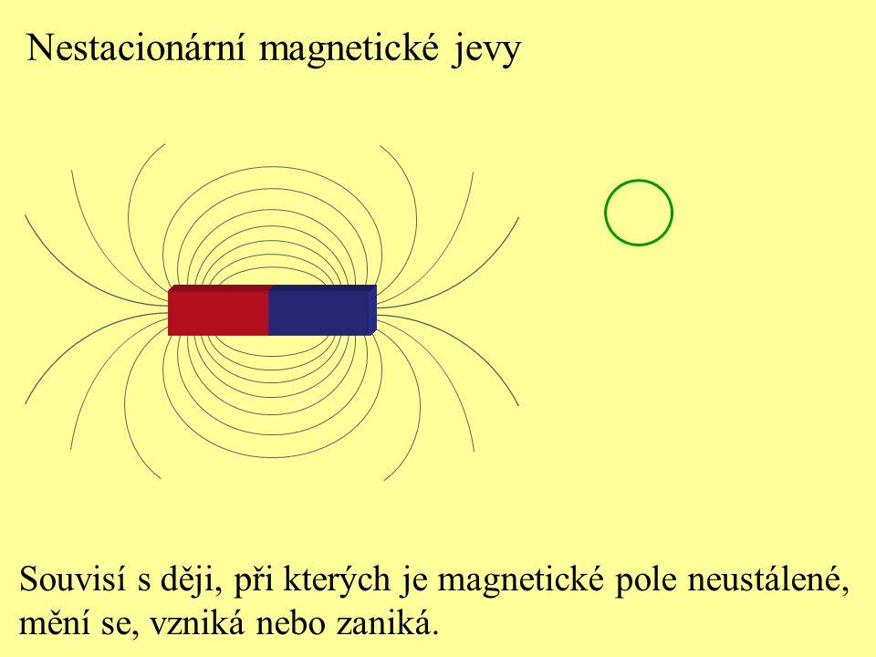 Nestacionární magnetické jevy
