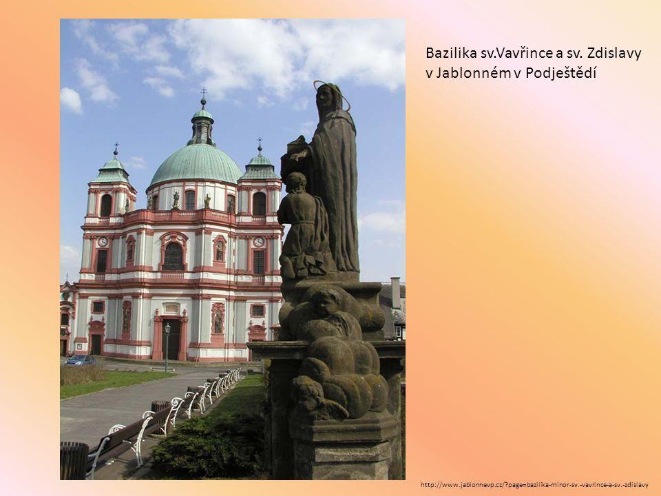Bazilika sv.Vavřince a sv. Zdislavy v Jablonném v Podještědí