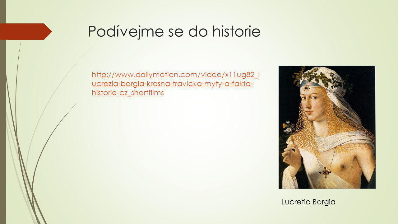 Podívejme se do historie
