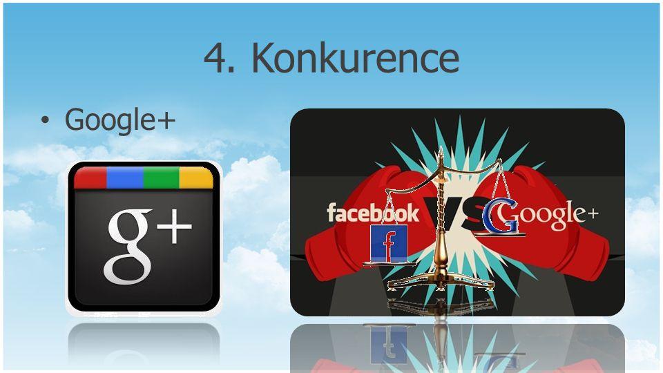 4. Konkurence Google+