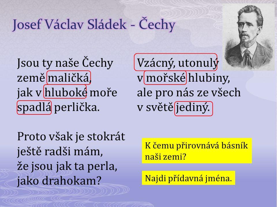 Josef Václav Sládek - Čechy