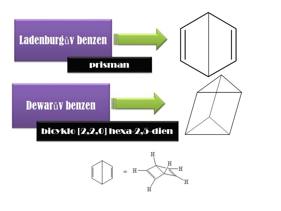 Ladenburgův benzen Dewarův benzen prisman