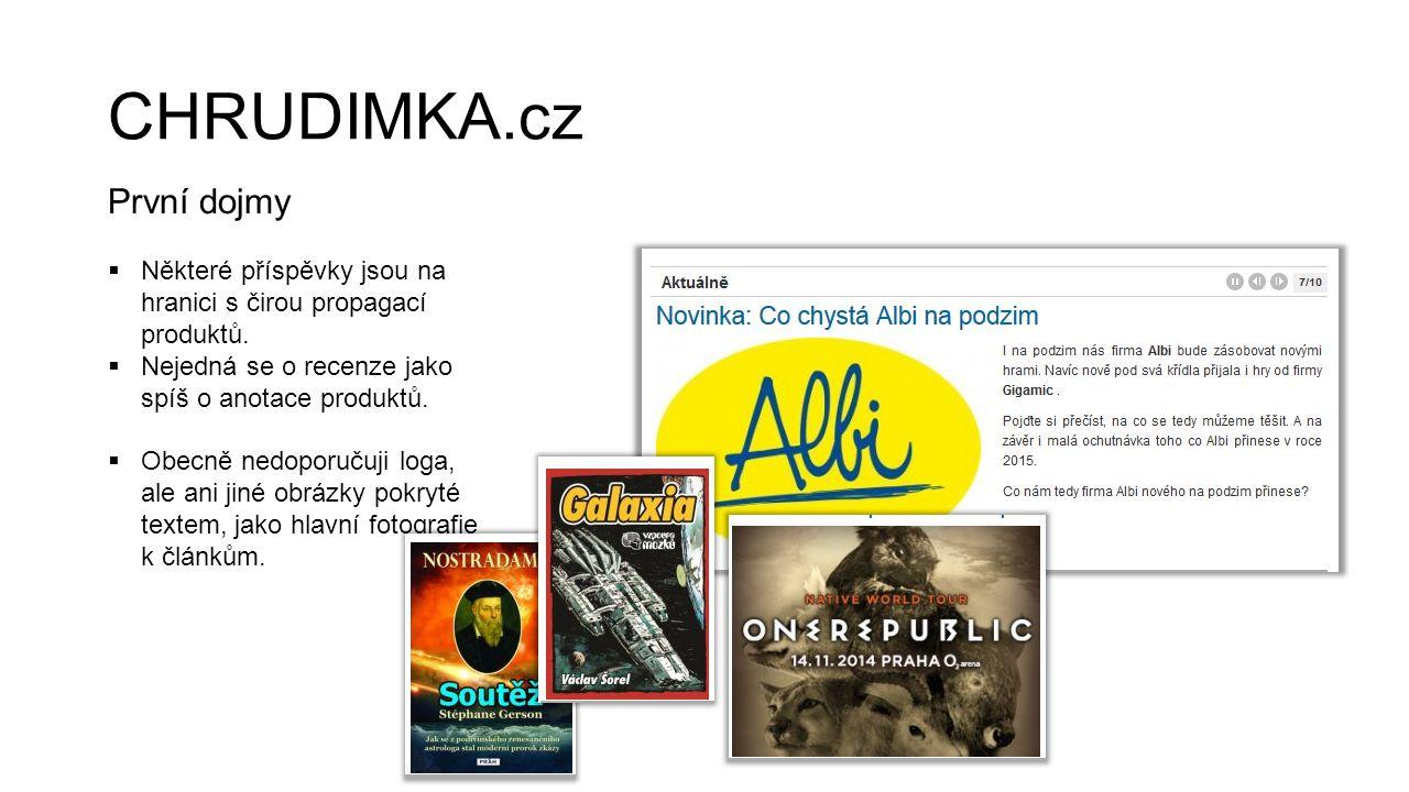CHRUDIMKA.cz První dojmy