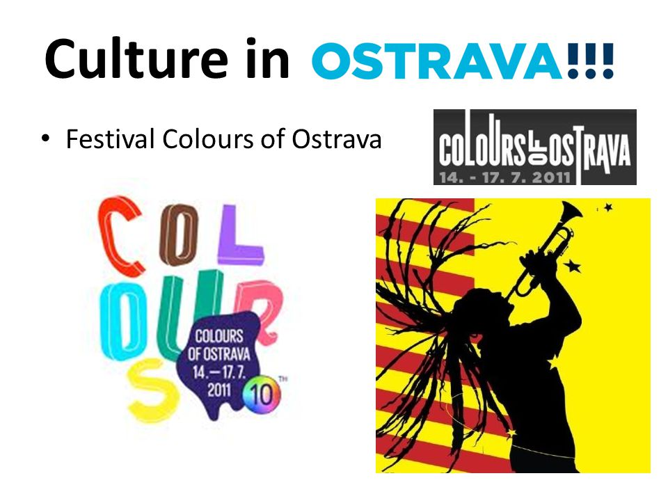 Culture in Festival Colours of Ostrava