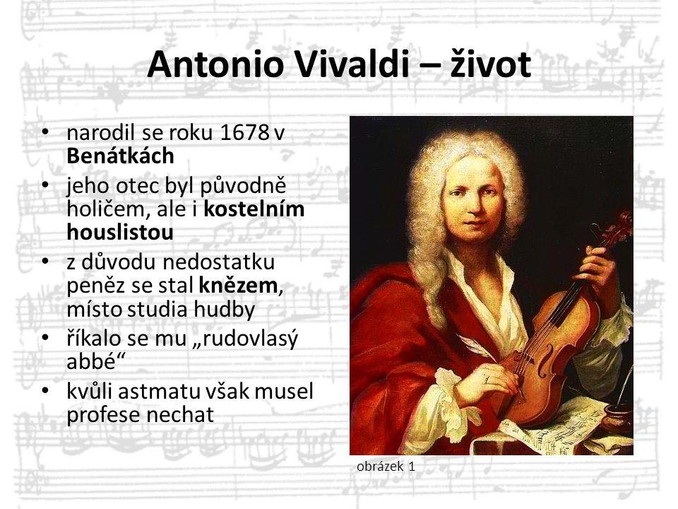 Antonio Vivaldi – život